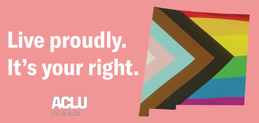 Live proudly. It's your right.