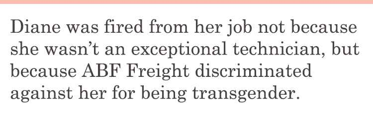 Diane Fired Because