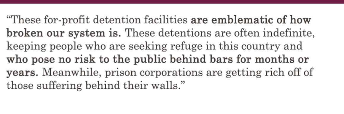 Immigration Detention Machine - Broken System