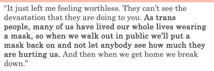 left you feeling worthless