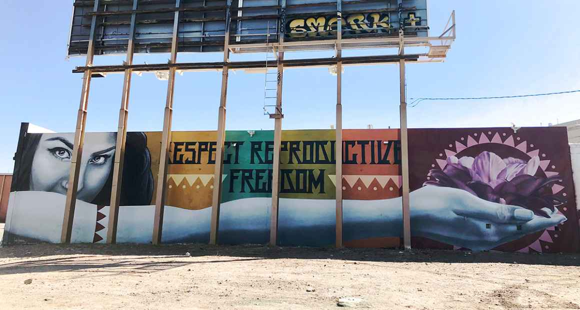 Respect Reproductive Freedom Mural