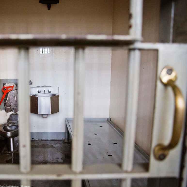 Empty cell at Georgia Diagnostic and Classification Prison.