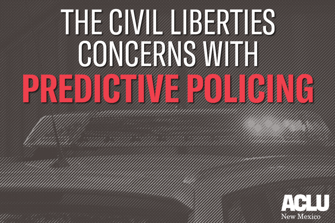 The Civil Liberties Concerns With predictive Policing