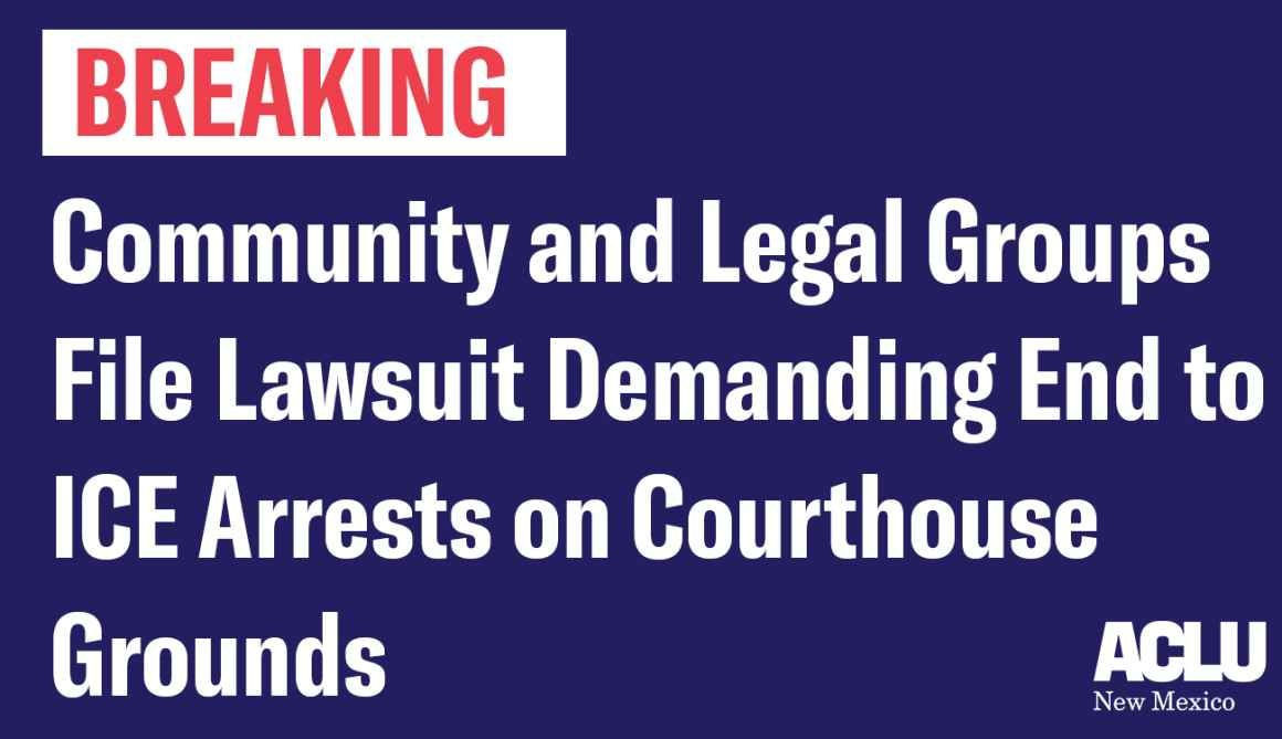 Community and Legal Groups File Lawsuit Demanding End to ICE Arrests on Courthouse Grounds