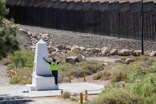 Monument One - Private Border Wall