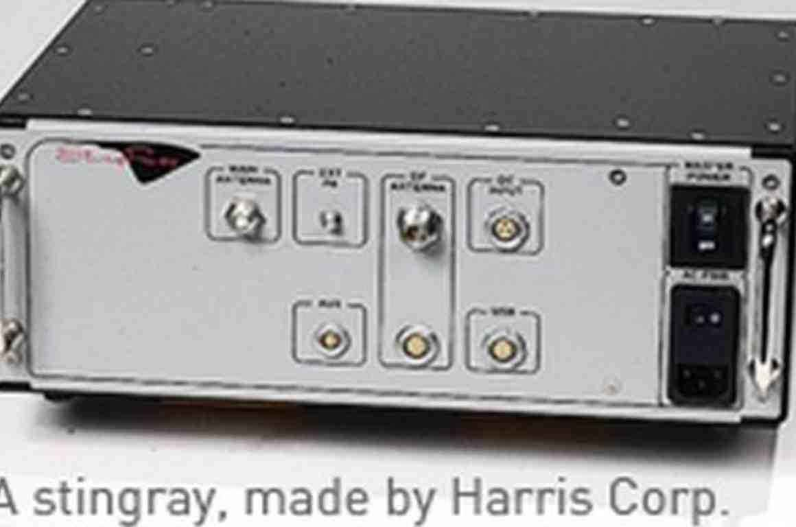 Photo of a Stingray device manufactured by Harris Corp.