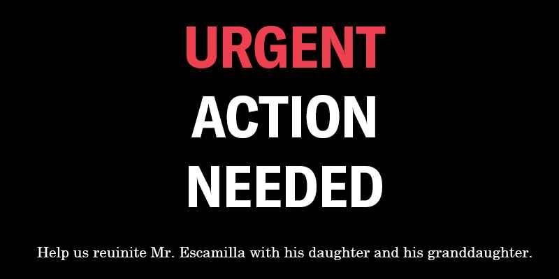 Urgent Action Needed