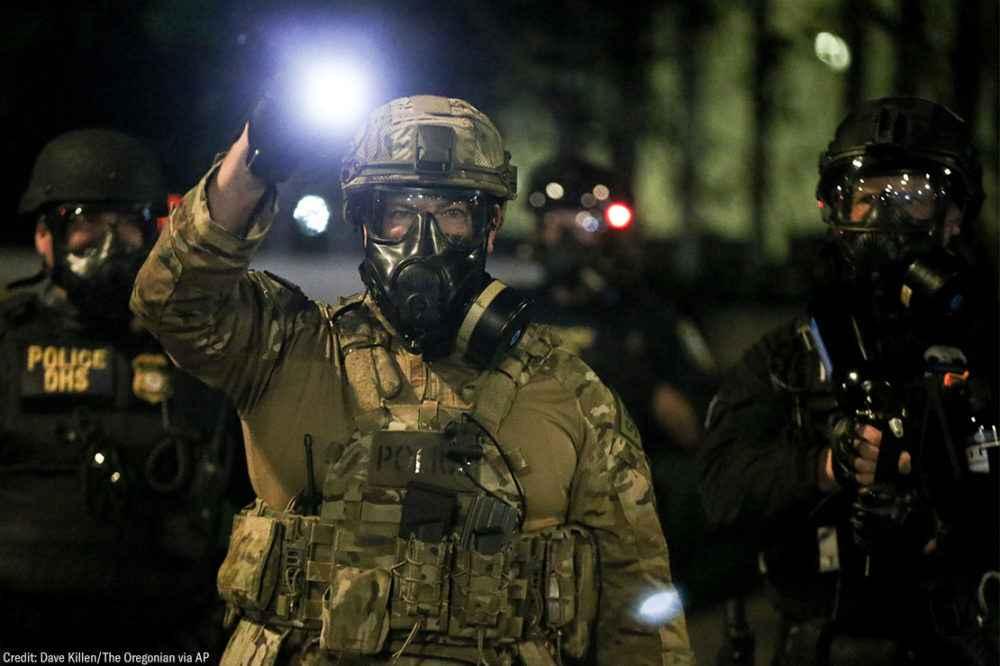 Border Patrol Violently Assaults Civil Rights and Liberties