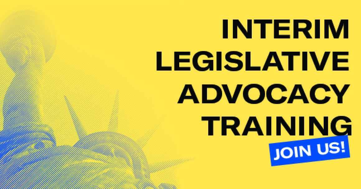 Interim Legislative Advocacy Training