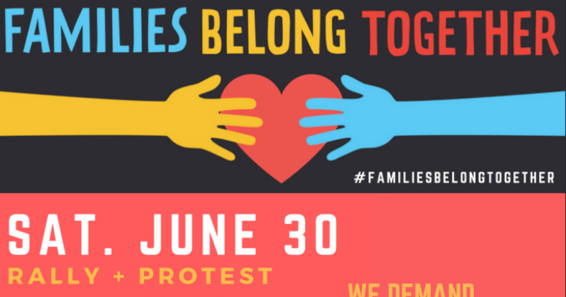 Families Belong Together Invite