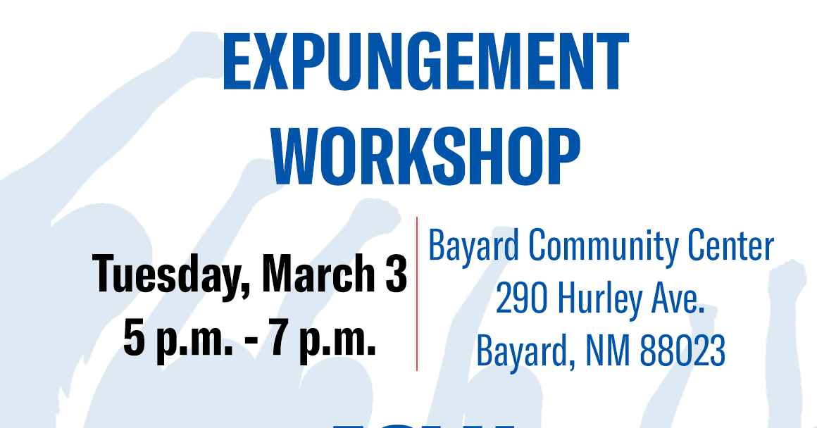 Bayard Expungement Workshop