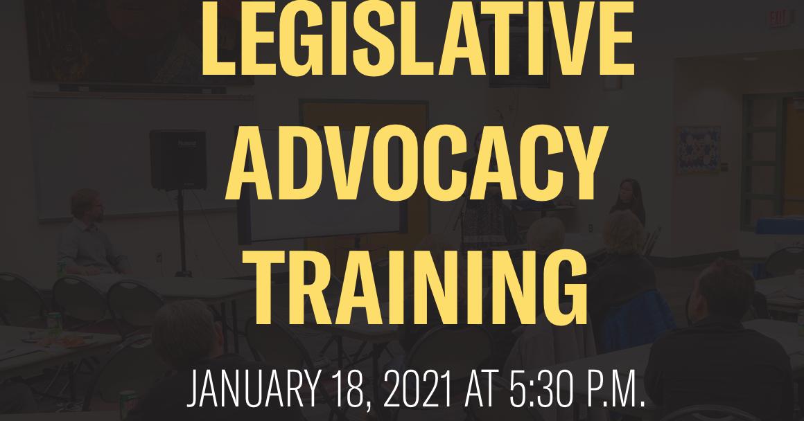 Legislative Advocacy Training