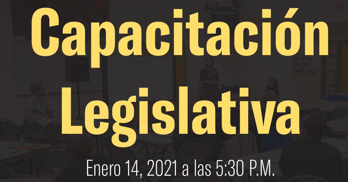 Capacitación Legislativa enero 14