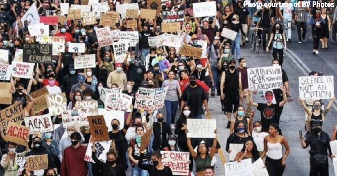Protesters in ABQ