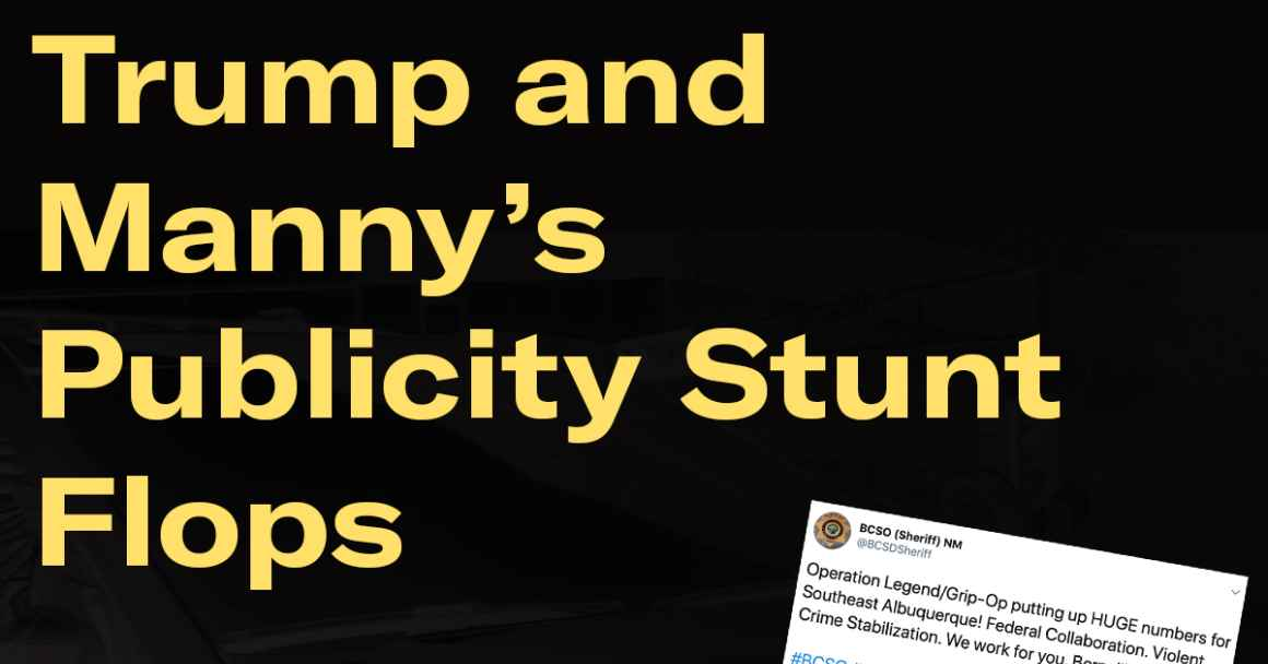 Trump and Manny's Publicity Stunt Flops