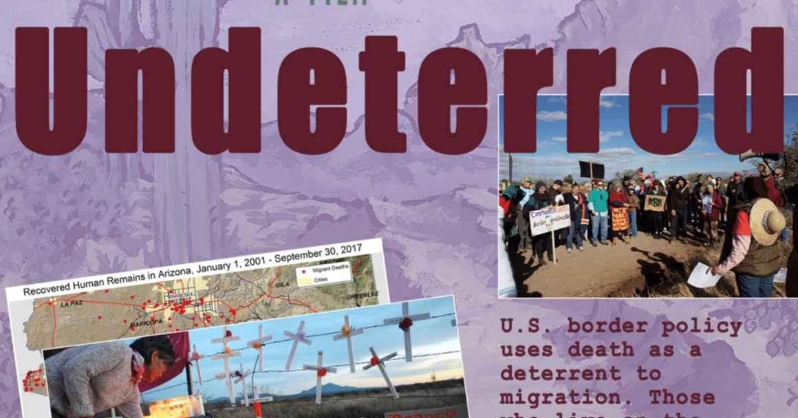 Undeterred Film Panel - Resist Border Militarization